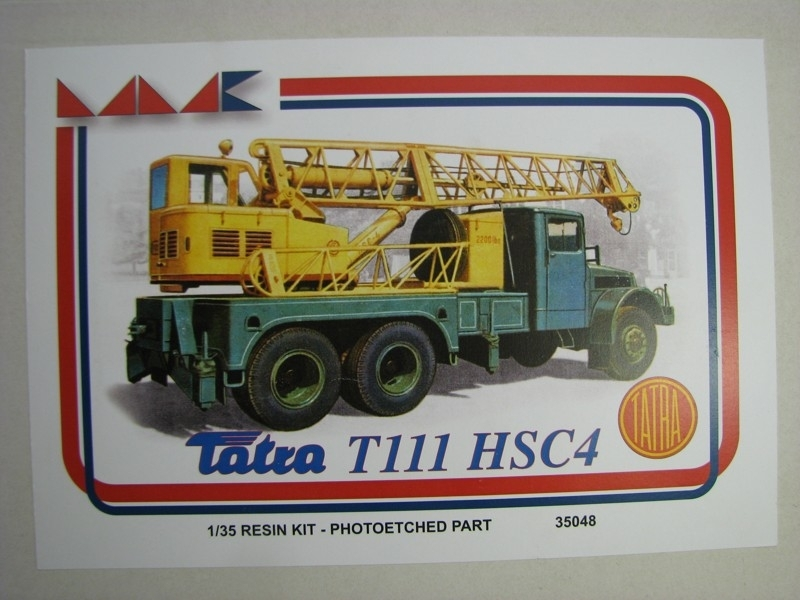 Tatra T111 HSC4 Resin Kit 1:35 MK models